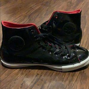 Chuck Taylor Hight top Vinyl Converse shoes